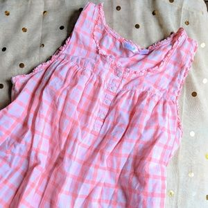 Retro Plaid Adonna Nightgown